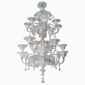 Murano Chandelier from Mazzega, 1960s