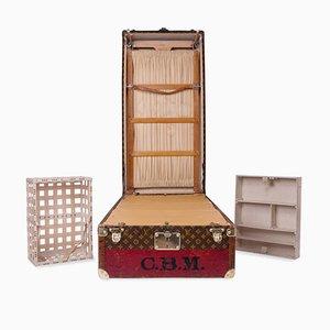 Vintage Kleiderschrank Schrank aus Gewebe von Louis Vuitton, 1930er