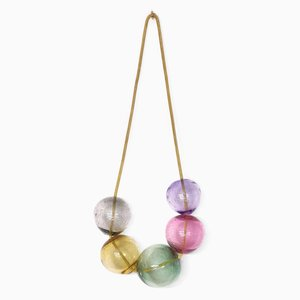 Small Pink Bubbles Wall Hanging by LaLouL / Corinne van Havre