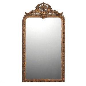 Großer antiker Spiegel