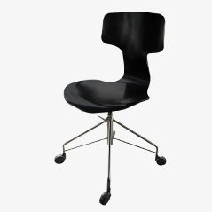 Model 3103 Office Chair by Arne Jacobsen for Fritz Hansen, 1973