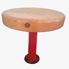 Vintage Stool by Charlotte Perriand for Les Arcs Ski Resort