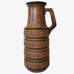 Jarrón vintage de cerámica de Scheurich, años 60