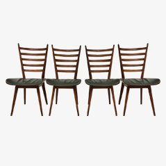 Esszimmerstühle von Cees Braakman für Pastoe, 4er-Set