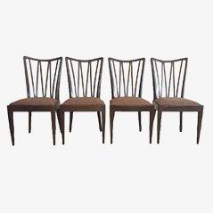 Chaises de Salon par AA Patijn pour Zijlstra Joure, 1960s, Set de 4