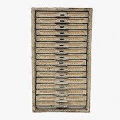 Mueble industrial vintage de Kardex Remington Rand, años 60