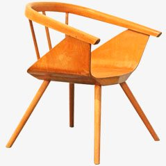 Vintage Children's Armchair from Baumann, 1950s