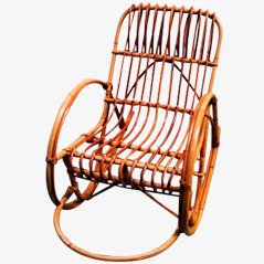 Vintage Children's Rocking Chair, 1960s