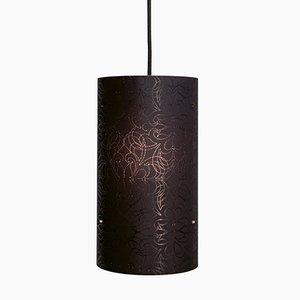 Petite Lampe à Suspension Modèle Black Vintage de Studio Nahtlos
