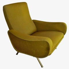 Mid-Century Lounge Chair by Marco Zanuso, 1950s
