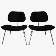 Vintage LCM Chairs by Charles and Ray Eames for Herman Miller, 1960s