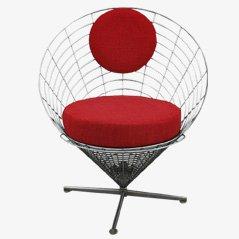 Wire Cone Stuhl von Verner Panton für Plus Linje