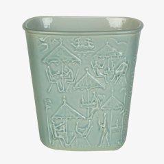 Vase en Porcelaine par Carl Harry Stalhane pour Rorstrand