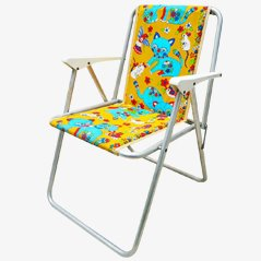 Vintage Children's Camping Chair, 1960s