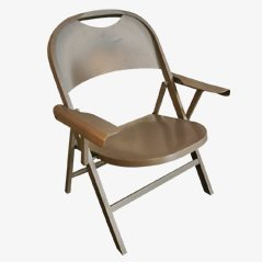 Ginevra Klappbarer Stuhl von Achille Castiglioni für Bonacina, 1979