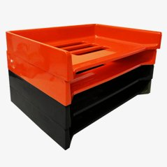 Eva Filing Drawers by Raymond Loewy for Armor, 1970s, Set of 4