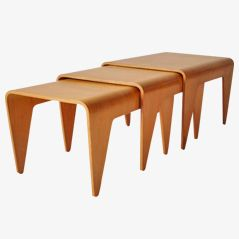 Nesting Tables by Marcel Breuer for Isokon, Set of 3