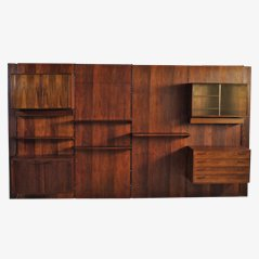 Rosewood Wall Unit by Kai Kristiansen