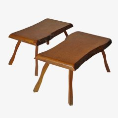 Vintage Dutch Table, 1950s, Set of 2