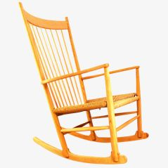 J-16 Rocking Chair by Hans J. Wegner for FDB Mobler