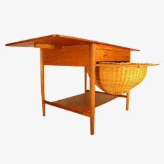 Sewing Table by Hans J. Wegner for Andreas Tuck