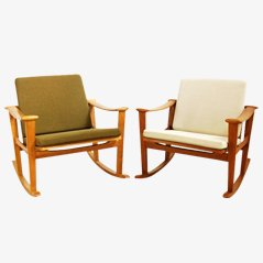 Rocking Chair from France and Sons, Set of 2