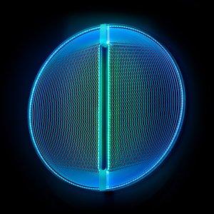 Lampada Thanks for the Planets blu verde di Arnout Meijer Studio