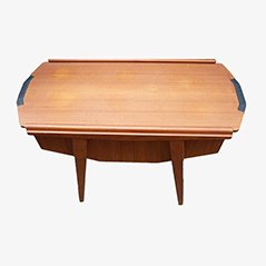 Mid-Century Danish Sewing Table, 1950s