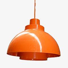 Lámpara colgante Minisol de K Kewo para Nordisk Solar, años 60