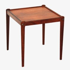 Rosewood Side Table from BRDR Furbo, 1960s