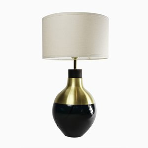 Dark Blue Brass M2 Museum Lamp by Utopia & Utility