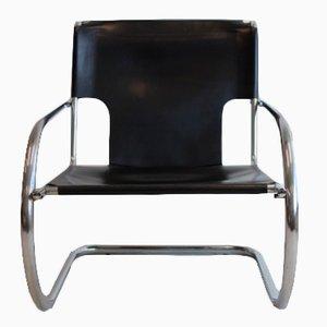 Chrom Leder Sessel von Arrben