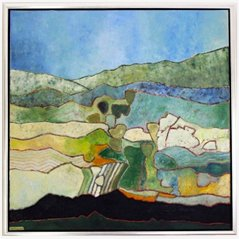 Landscape at Terschelling by Hans Butzelaar
