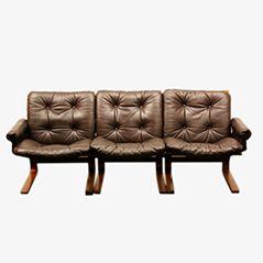 Kengu Sofa von Elsa & Nordahl Solheim für Rybo Rykken Furniture Co., 1976