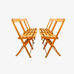 Esszimmerstühle aus Pariser Bistro, 6er Set