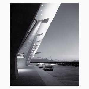 Eero Saarinen, Dulles International Airport, Chantilly, par Balthazar Korab, Virginie