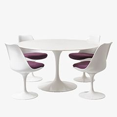 Tulip Dining Set by Eero Saarinen for Knoll International, 1957
