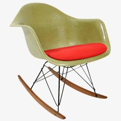 RAR-1 Rocking Armchair by Charles & Ray Eames