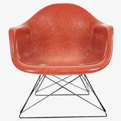 LAR Terrakotta Stuhl von Ray & Charles Eames für Herman Miller