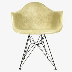 Beige DAR Armchair by Ray & Charles Eames for Zenith