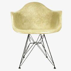 Beiger DAR Stuhl von Ray & Charles Eames für Zenith