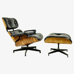 Lounge Chair & Ottoman by Ray & Charles Eames for Herman Miller