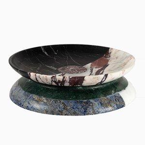 Centre de Table Aldo en Marbre Multicolore par Arthur Arbesser pour MMairo