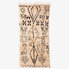Marokkanischer Beni Ourain Berberteppich, 1970er