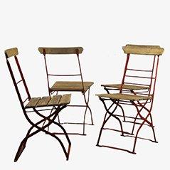 Chaises d'Extérieur Vintage, 1900s, Set de 4