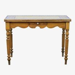 Antiker Französischer Fliesen Esstisch