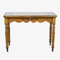 Antique French Tiled Dining Table