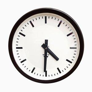 Tschechische Uhr aus Bakelit von Pragotron, 1960er