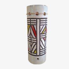 Lampe à Suspension Mid-Century Tubulaire par Roger Capron, 1950s
