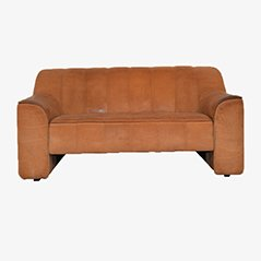 Sofá de dos plazas DS 44 vintage de de Sede, años 70
